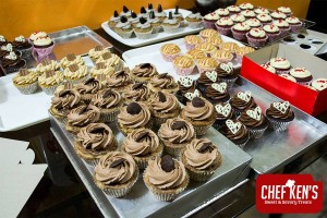 Some of Chef Ken's delectable cupcakes