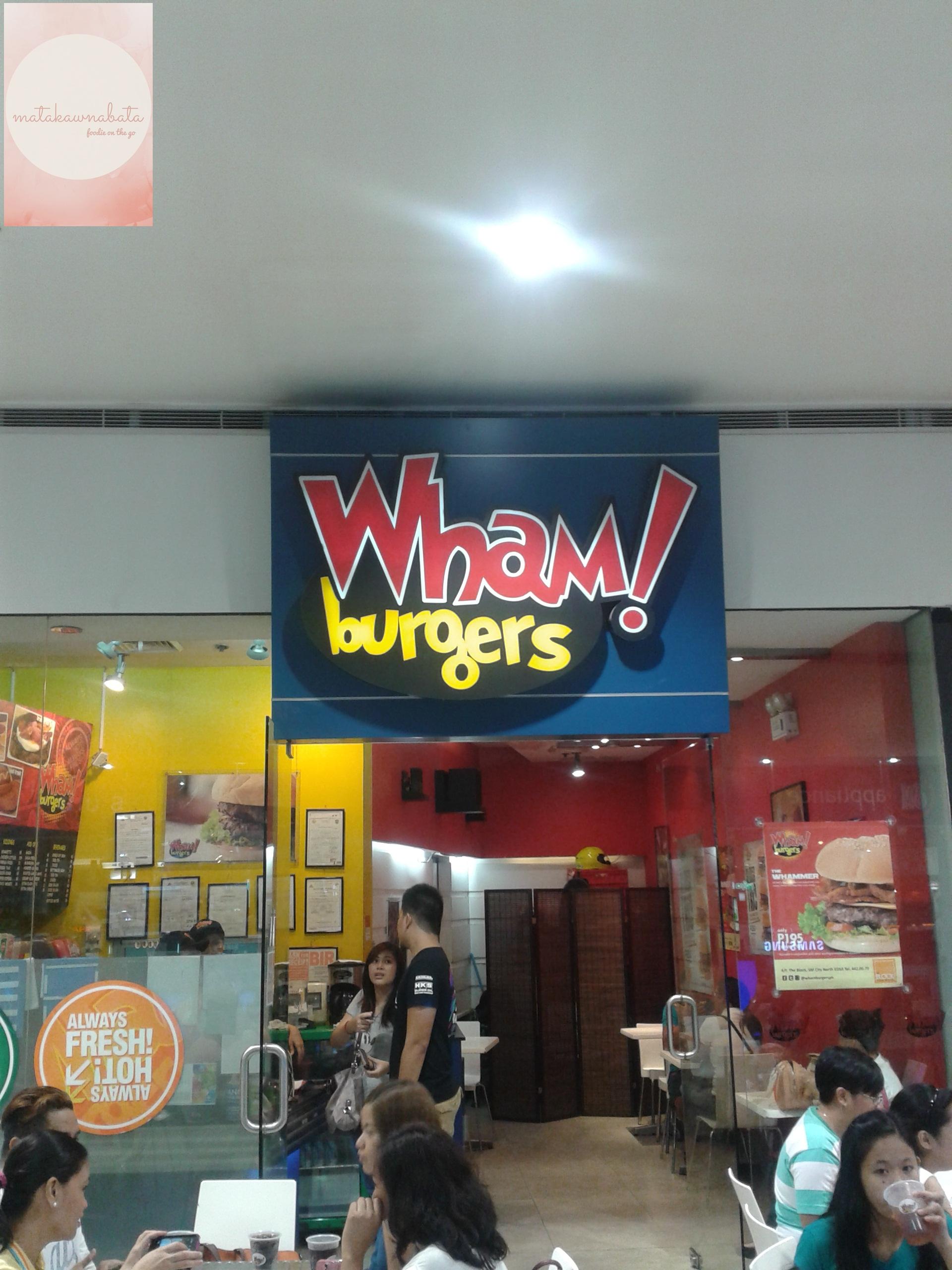 My Wham! Burgers experience