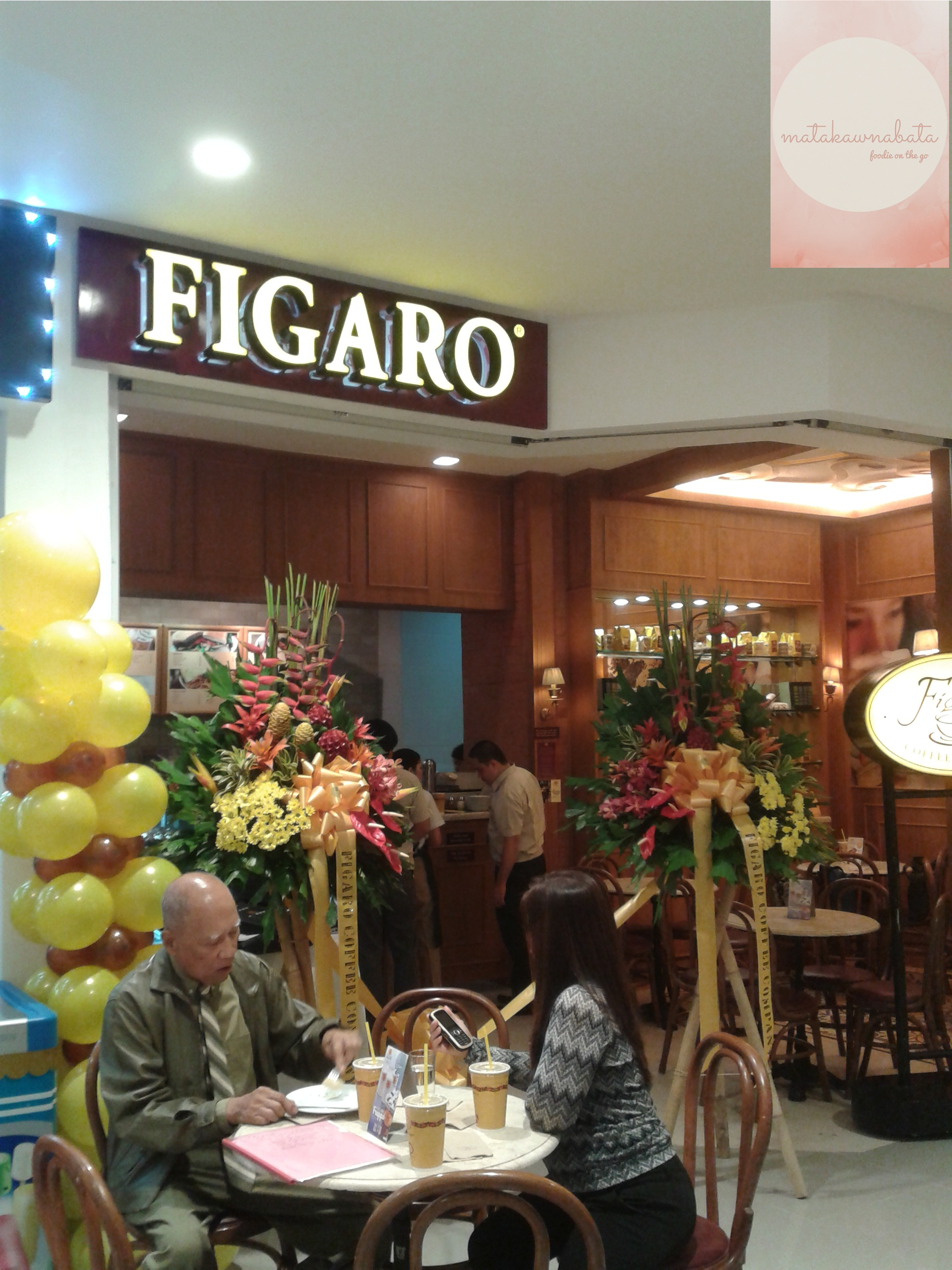 Figaro opens its Ayala Fairview Terraces branch