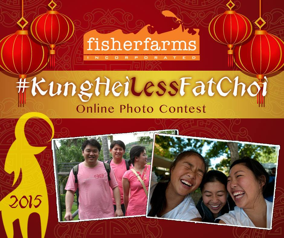 Join Fisher Farms #KungHeiLessFatChoi contest