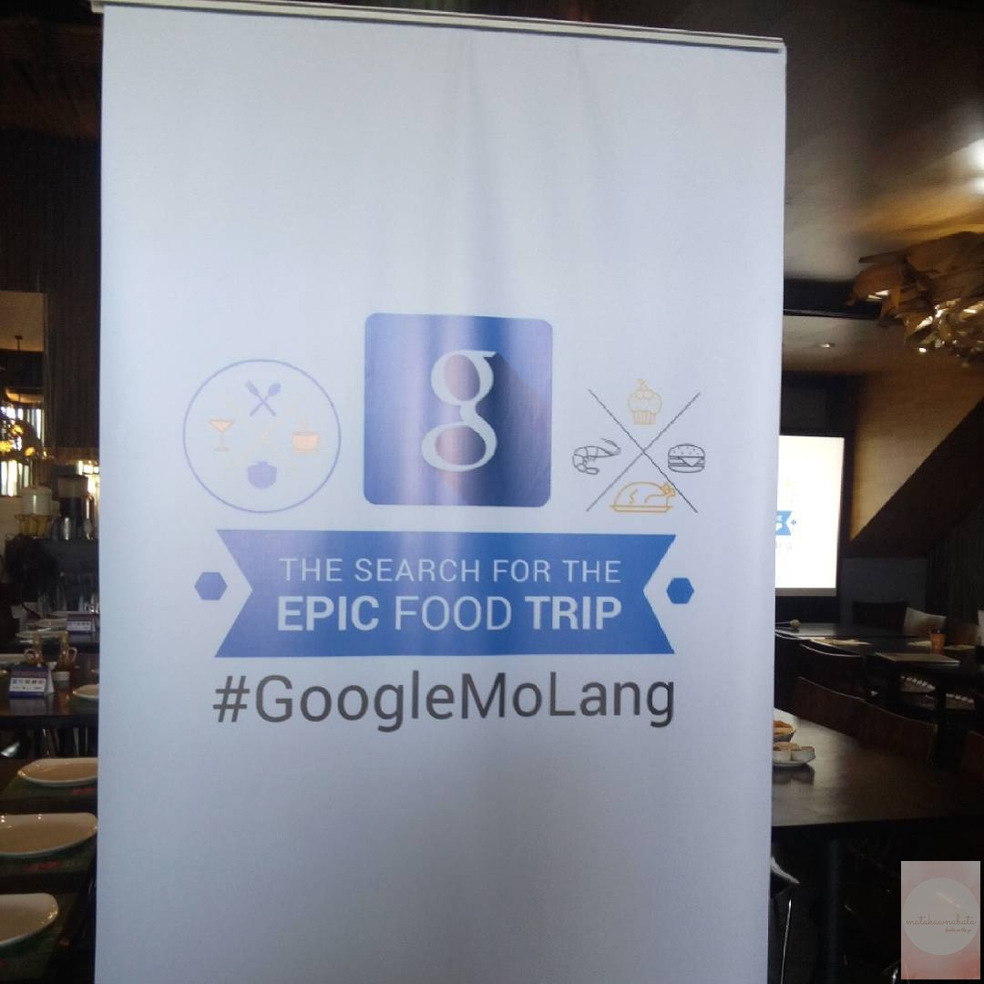 Food crawling around MOA for Google Philippines' Epic Food Trip
