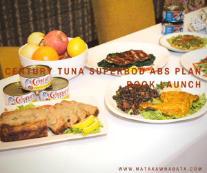 Century tuna superbod abs plan book launch
