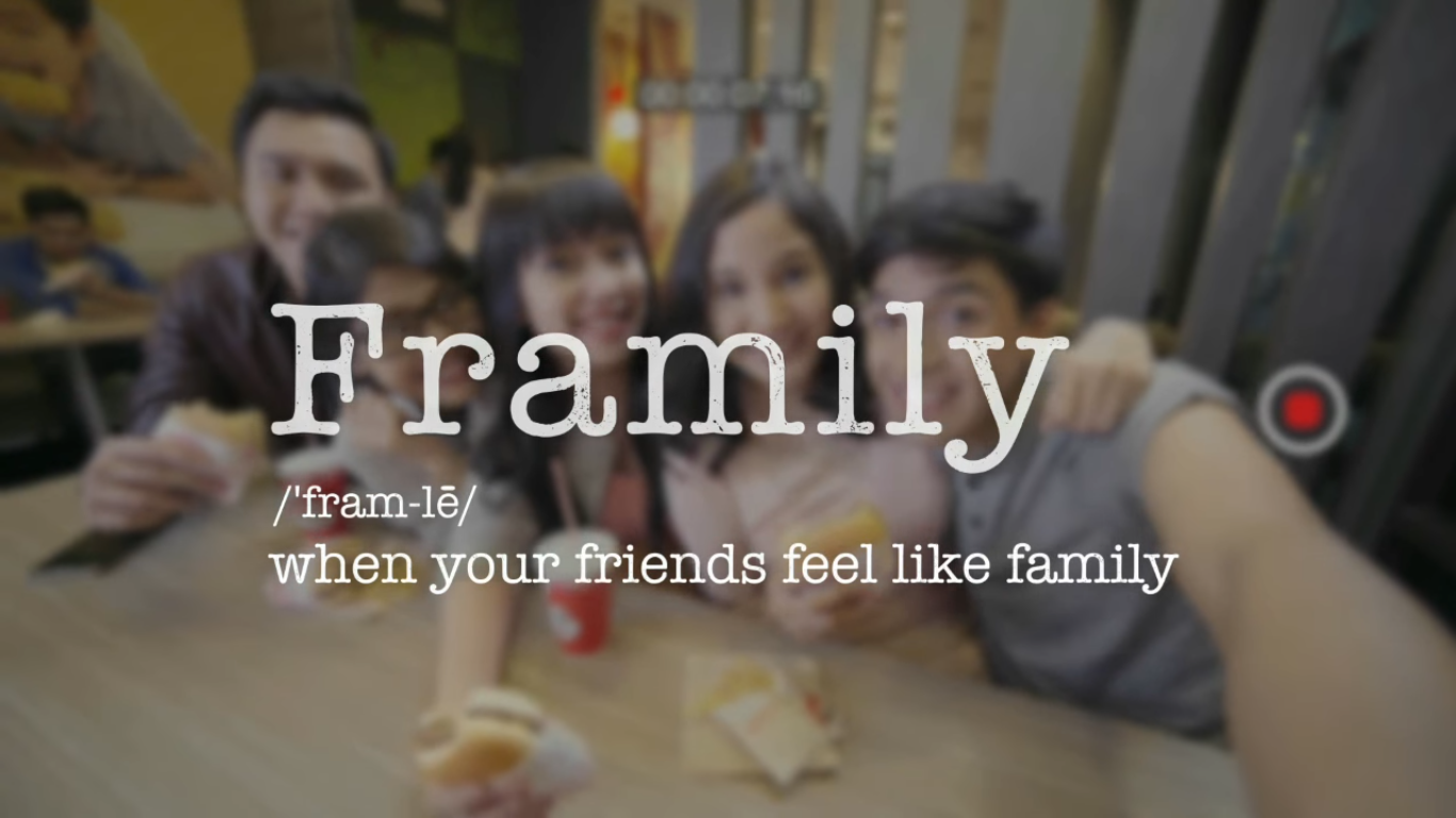Jollibee launched its new digital campaign 'Framily'