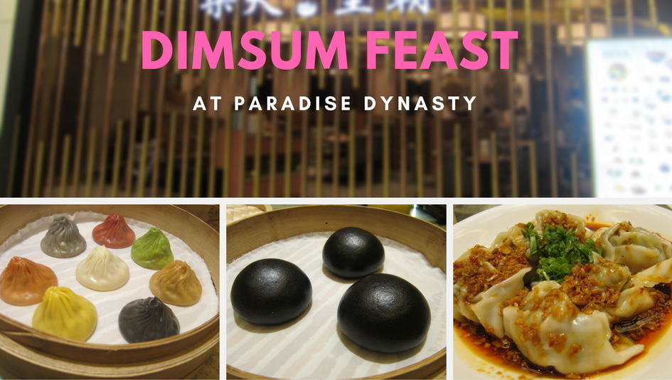 Dimsum Feast at Paradise Dynasty
